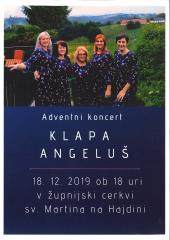 Adventni koncert klape Angeluš