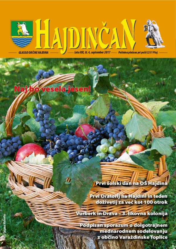Hajdinčan september 2017